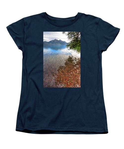 Women's T-Shirt (Standard Cut) featuring the photograph Shadow Pebbles by David Andersen