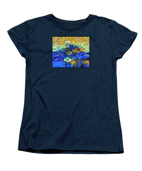 Shadows And Sunspots Women's T-Shirt (Standard Cut) by John Lautermilch