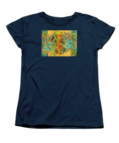 Shape Of Things Women's T-Shirt (Standard Cut) by Lynda Hoffman-Snodgrass