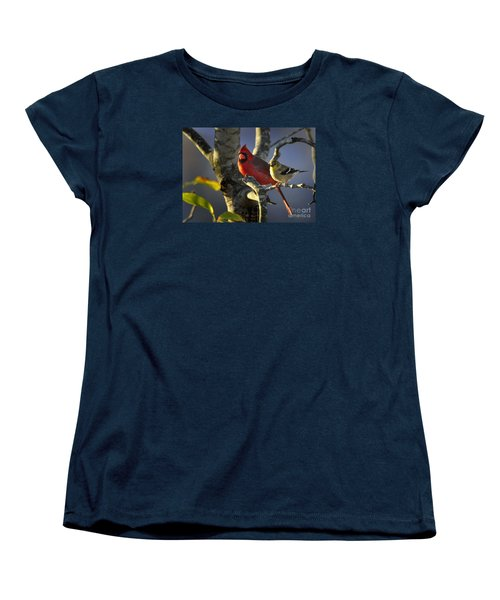 Women's T-Shirt (Standard Cut) featuring the photograph Sharing The Light by Nava Thompson