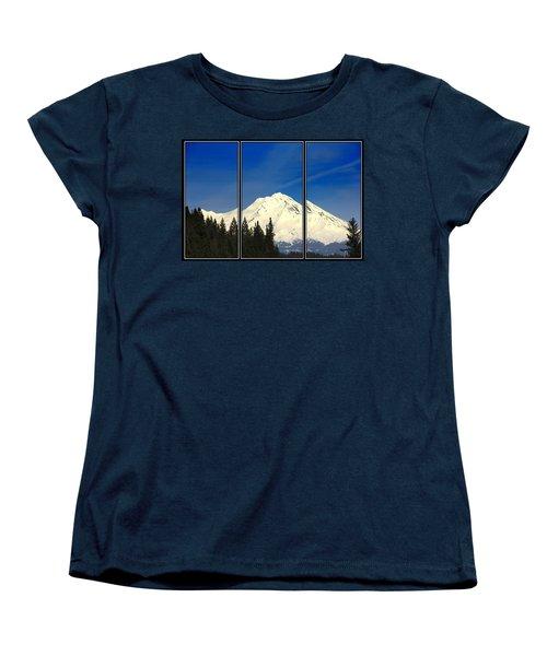 Women's T-Shirt (Standard Cut) featuring the photograph Shasta by Athala Carole Bruckner