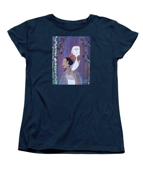 She Flies With The Owls Women's T-Shirt (Standard Cut)