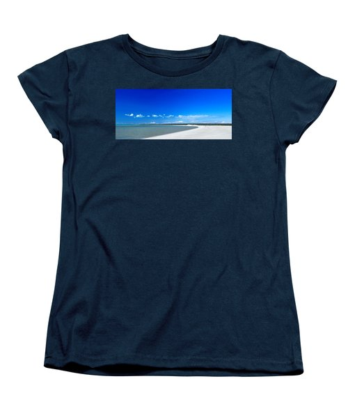 Women's T-Shirt (Standard Cut) featuring the photograph Shell Beach by Yew Kwang