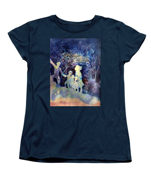 Shelter From The Storm Women's T-Shirt (Standard Cut) by Marilyn Jacobson