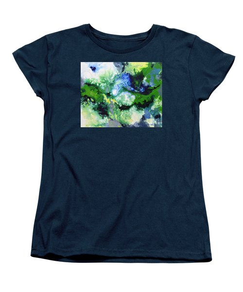 Shift To Grey Women's T-Shirt (Standard Cut) by Sally Trace
