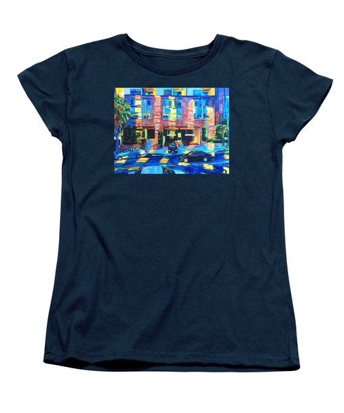 Reflect Women's T-Shirt (Standard Cut) by Bonnie Lambert