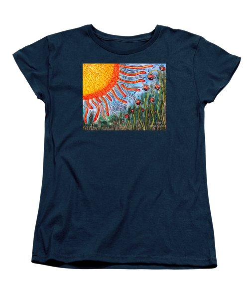 Shine On Me.. Women's T-Shirt (Standard Cut) by Jolanta Anna Karolska