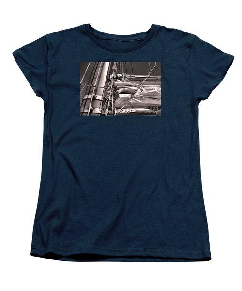 Women's T-Shirt (Standard Cut) featuring the photograph Ship Shape 1 by John S