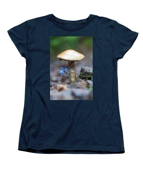 Shy Women's T-Shirt (Standard Cut) by Aaron Aldrich