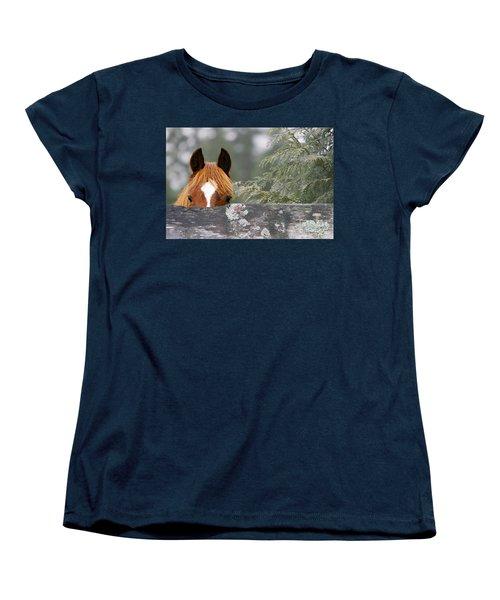 Shyness Women's T-Shirt (Standard Cut) by Michelle Twohig