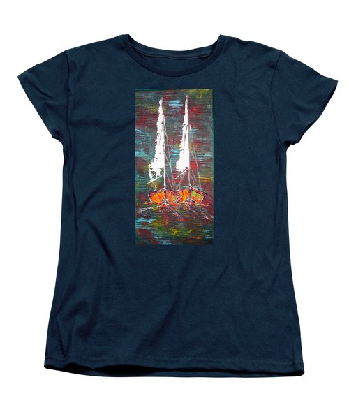 Side By Side - Sold Women's T-Shirt (Standard Cut) by George Riney