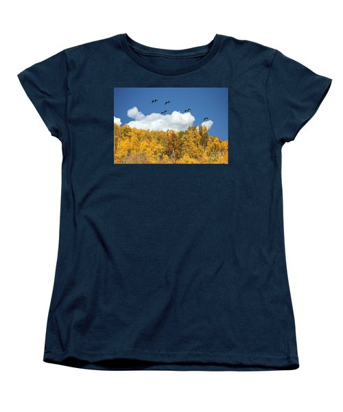 Signs Of The Season Women's T-Shirt (Standard Cut) by Bob Hislop
