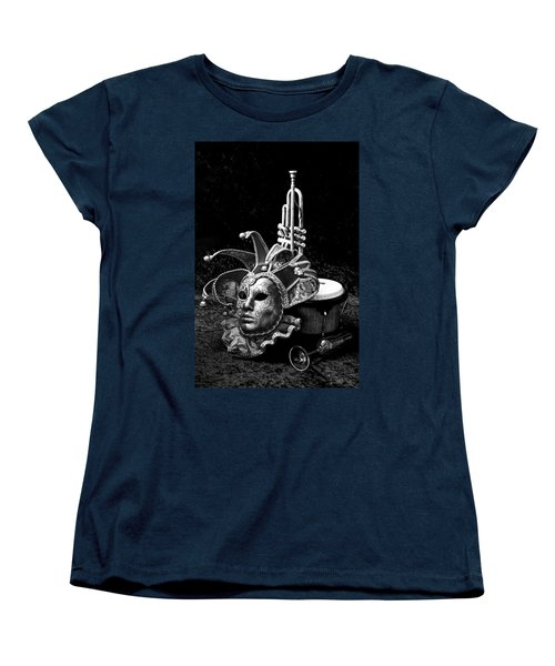 Women's T-Shirt (Standard Cut) featuring the photograph Silent Night In Venice by Elf Evans