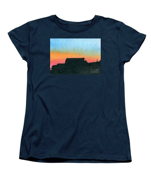 Silhouette Farmstead Women's T-Shirt (Standard Cut) by R Kyllo