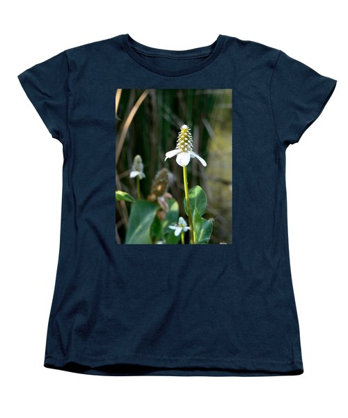 Women's T-Shirt (Standard Cut) featuring the photograph Simple Flower by Laurel Powell