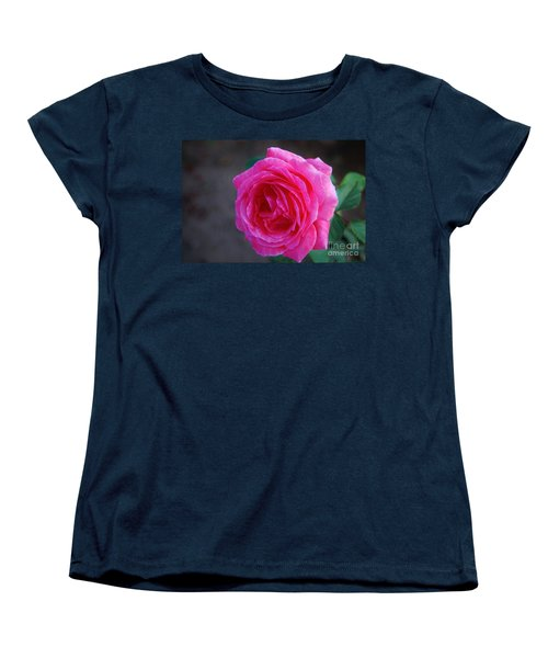 Simply A Rose Women's T-Shirt (Standard Cut) by Angela J Wright