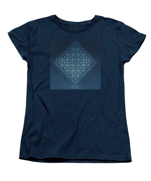 Sine Cosine And Tangent Waves Women's T-Shirt (Standard Cut) by Jason Padgett