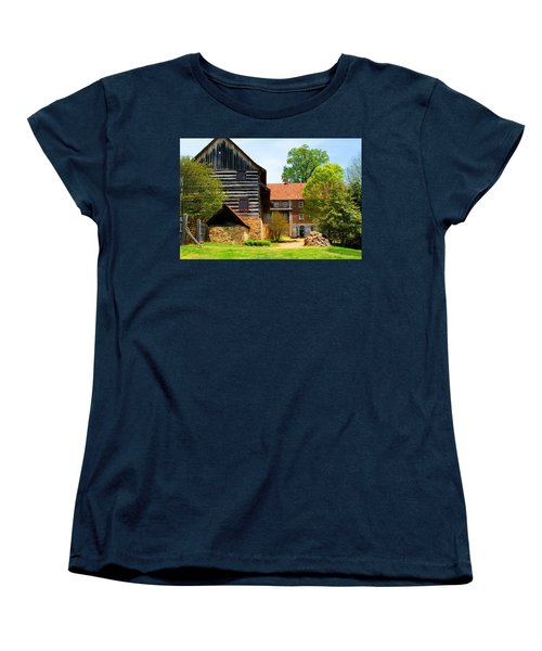 Single Brothers House Women's T-Shirt (Standard Cut) by Kathryn Meyer