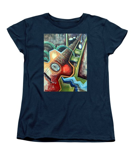 Sit Down Play Women's T-Shirt (Standard Cut) by Linda Shackelford
