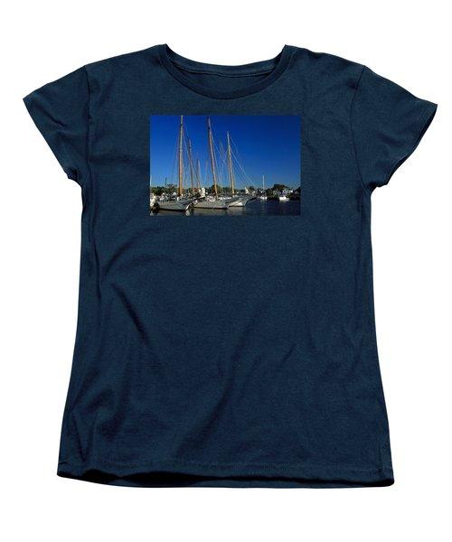 Skipjacks  Women's T-Shirt (Standard Cut) by Sally Weigand