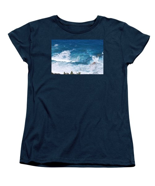 Women's T-Shirt (Standard Cut) featuring the photograph Skotini 1 by George Katechis