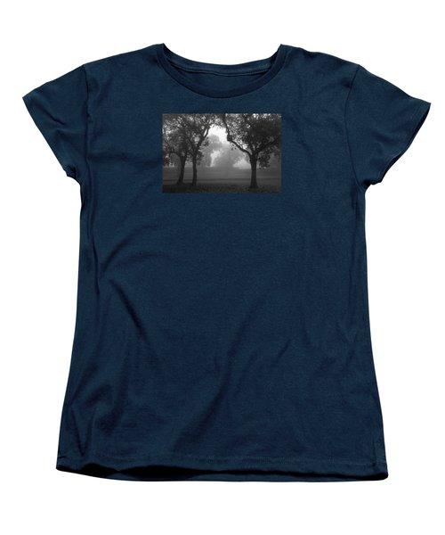 Women's T-Shirt (Standard Cut) featuring the photograph Skc 0063 Atmospheric Bliss by Sunil Kapadia