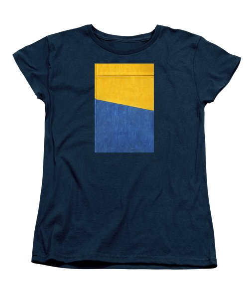 Skc 0303 Co-existance Women's T-Shirt (Standard Cut) by Sunil Kapadia