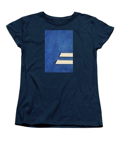Women's T-Shirt (Standard Cut) featuring the photograph Skc 0304 Parallel Paths by Sunil Kapadia