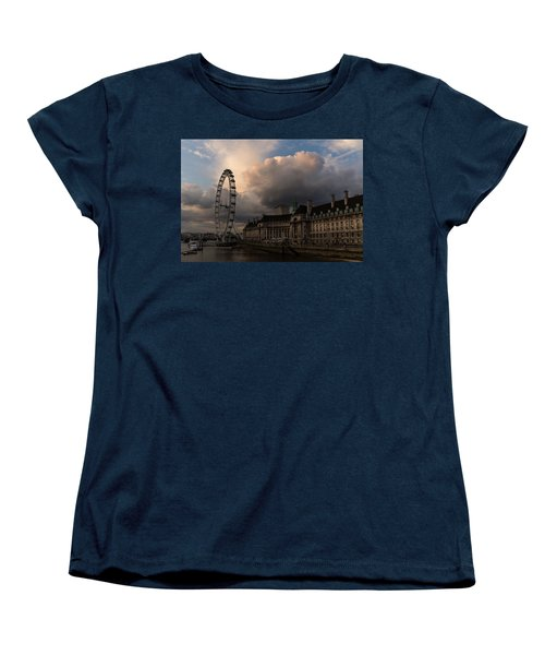 Sky Drama Around The London Eye Women's T-Shirt (Standard Cut)