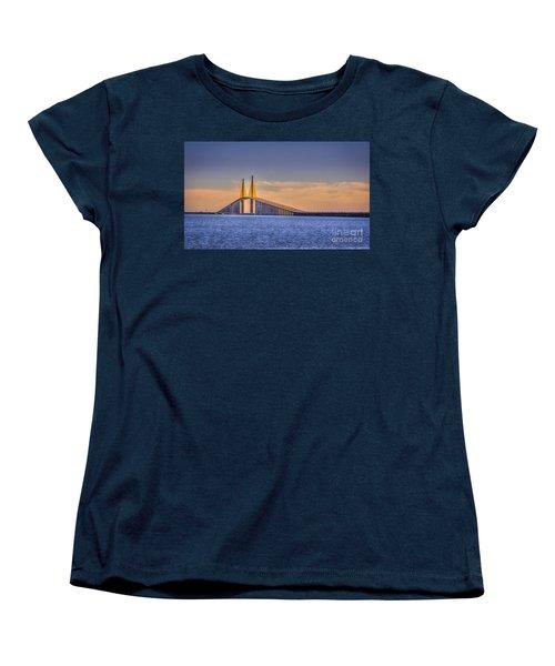 Skyway Bridge Women's T-Shirt (Standard Cut) by Marvin Spates