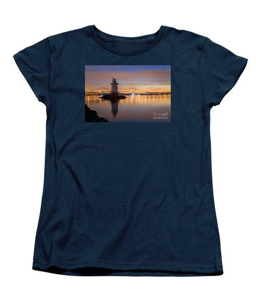Sleepy Hollow Light Reflections  Women's T-Shirt (Standard Cut) by Michael Ver Sprill