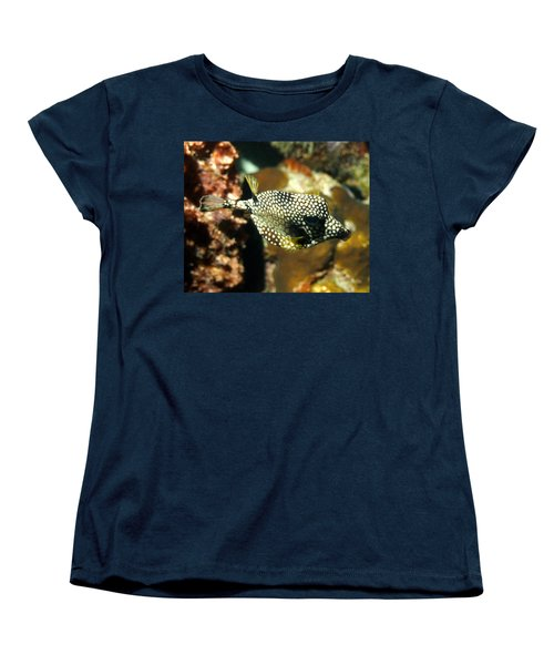 Women's T-Shirt (Standard Cut) featuring the photograph Smooth Trunkfish by Amy McDaniel