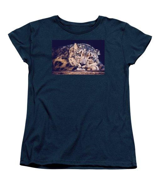 Snow Leopard Women's T-Shirt (Standard Cut)