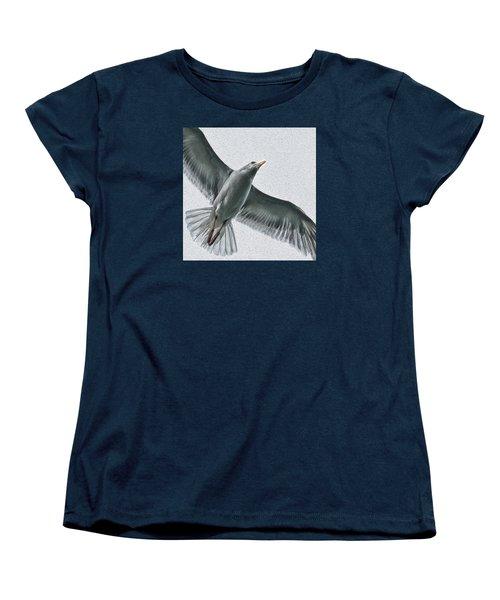 Soaring High Women's T-Shirt (Standard Cut) by Enzie Shahmiri