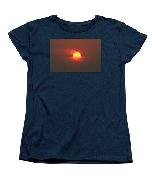 Soaring High Women's T-Shirt (Standard Cut) by Roger Becker