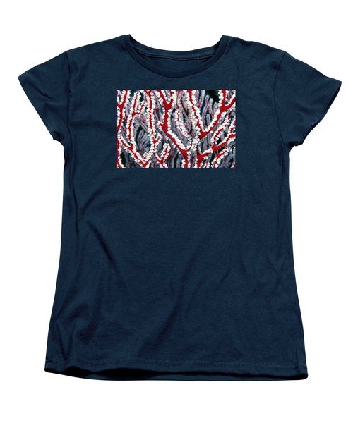 Soft Corals 3 Women's T-Shirt (Standard Cut) by Dawn Eshelman