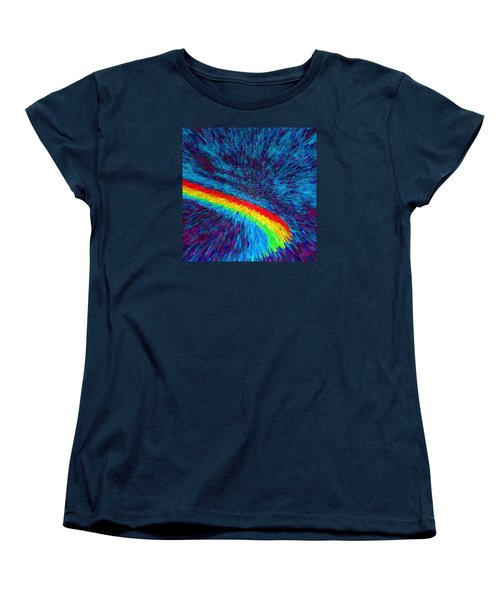 Women's T-Shirt (Standard Cut) featuring the painting Solar Winds II C2014 by Paul Ashby