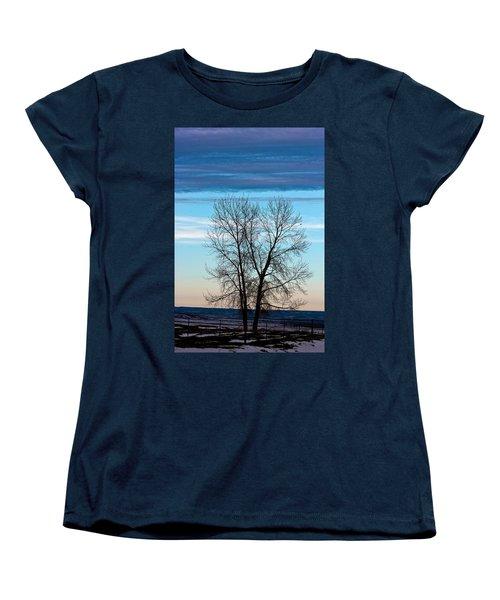 Soldier Creek Sunset Women's T-Shirt (Standard Cut)