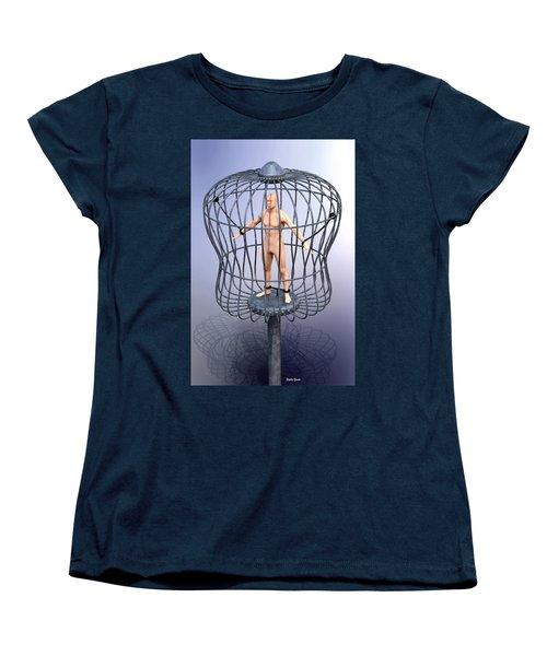 Women's T-Shirt (Standard Cut) featuring the digital art Solitary by Stephen Younts