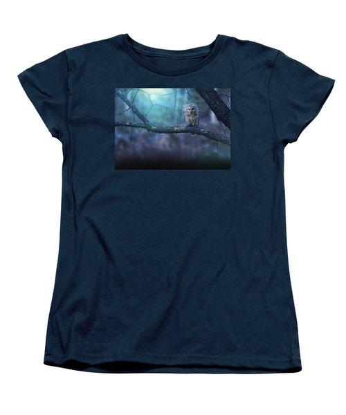 Solitude - Landscape Women's T-Shirt (Standard Cut) by Rob Blair