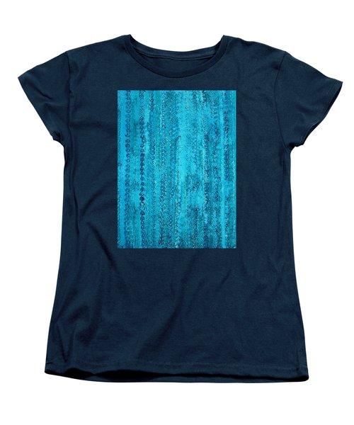 Some Call It Rain Original Painting Women's T-Shirt (Standard Cut) by Sol Luckman