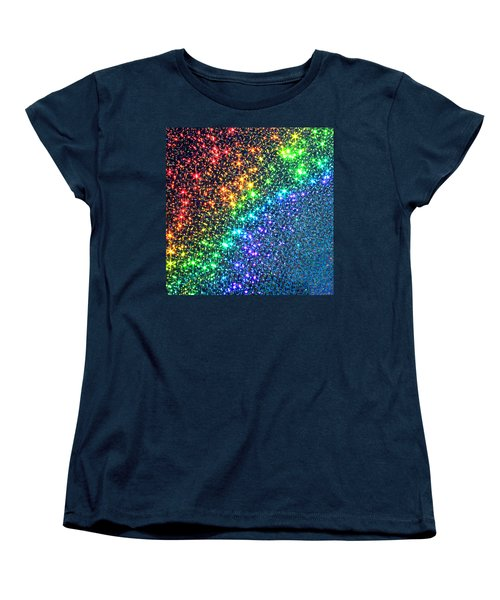 Song Of The Stars Women's T-Shirt (Standard Cut) by Dazzle Zazz