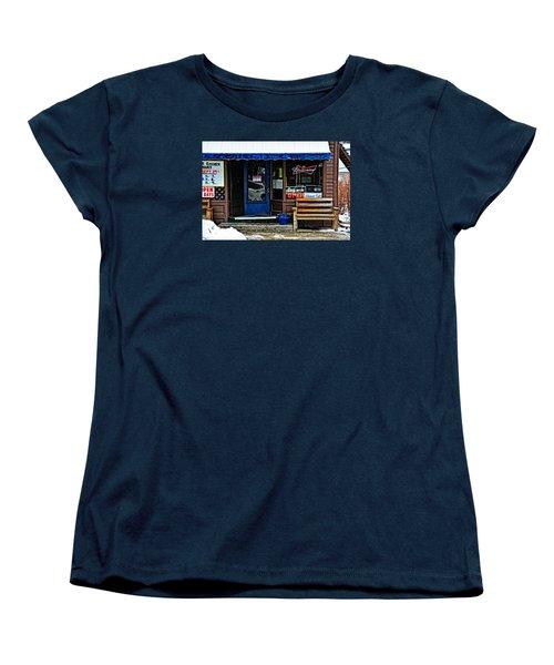 Sorry We're Open Women's T-Shirt (Standard Cut) by Mike Martin