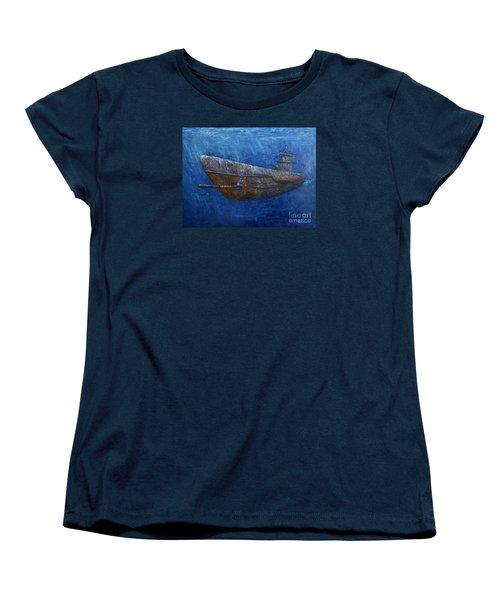 Soul Hunter Women's T-Shirt (Standard Cut) by Arturas Slapsys