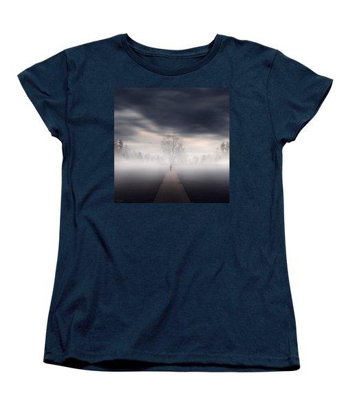 Soul's Journey Women's T-Shirt (Standard Cut) by Lourry Legarde