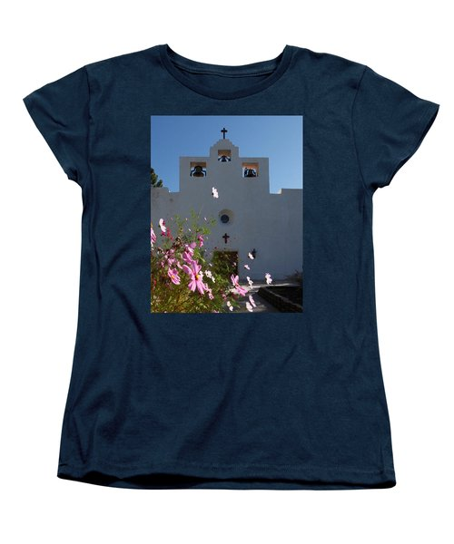 Women's T-Shirt (Standard Cut) featuring the photograph Spanish Mission by Susan Rovira
