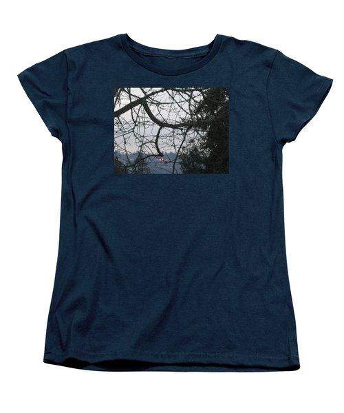 Spider Tree Women's T-Shirt (Standard Cut) by David Trotter