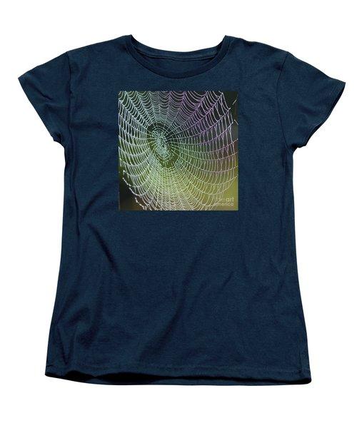 Spider Web Women's T-Shirt (Standard Cut) by Heiko Koehrer-Wagner