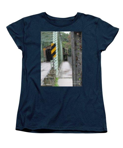 Spider Web Women's T-Shirt (Standard Cut) by Michael Krek