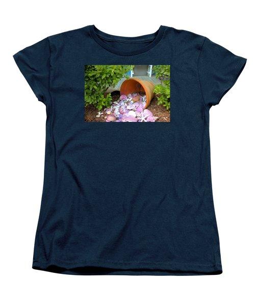 Women's T-Shirt (Standard Cut) featuring the photograph Spilled Shels by Gordon Elwell